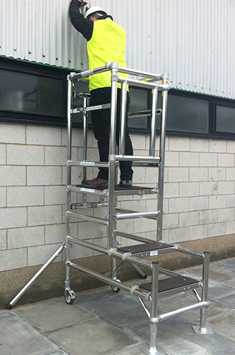Podium Steps Hire Nationwide